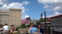Raleigh Times rooftop