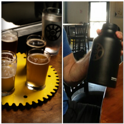 Crank Arm Brewing is new to First Friday, Photo by Charles Rudder