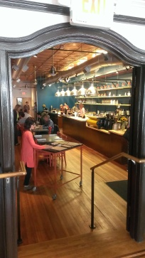 Inside Joule Coffee