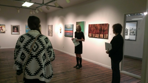 Mary Poole at ArtSpace
