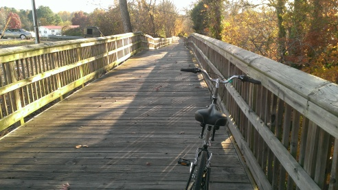 Raleigh Greenway trails