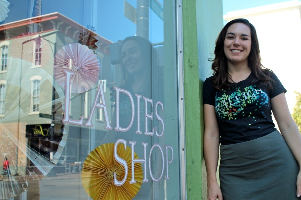Ladies Shop: Holly Aiken's storefront