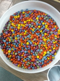 Earth Fare M&Ms