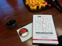 The Open Organization book and cookie